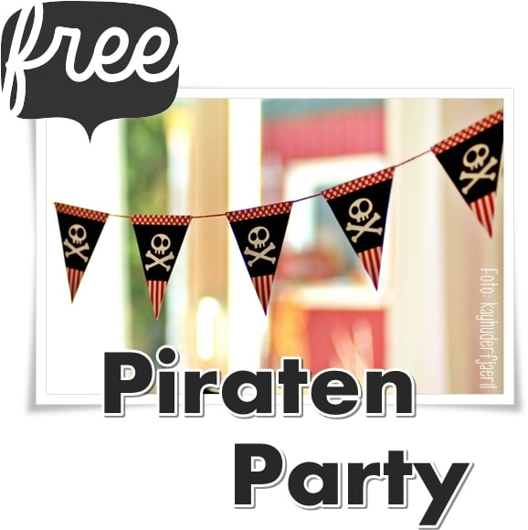 Kinder Party-Set Pirat