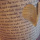 Windlicht aus Buchseiten