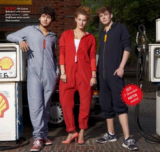 Jumpsuit Schnitmuster