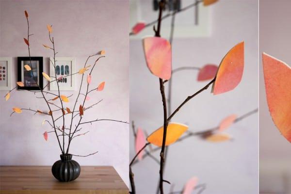 DIY Herbstbäumchen