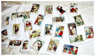Adventskalender Nikolaus / Santa Claus