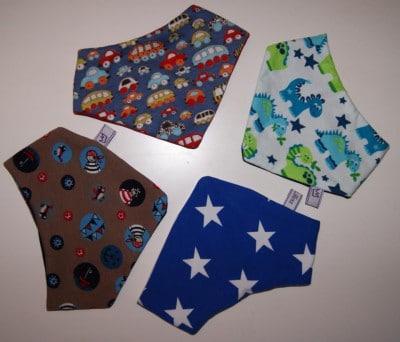 Wende-Halstücher aus Jersey für Mädchen und Jungs