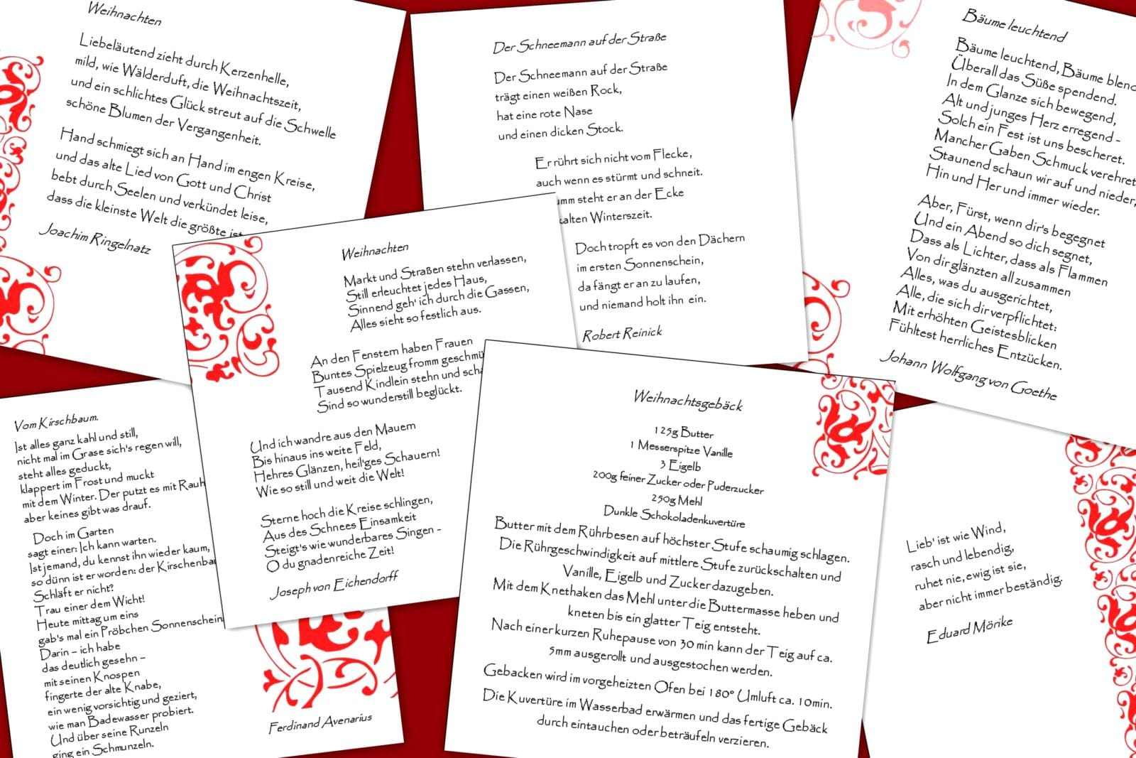 Adventskalender mit Poesie - HANDMADE Kultur