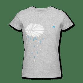 eaudecollage > rainshower shirt (American Apparel, grau)