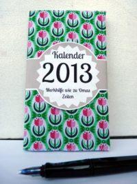 Stoff-Kalender 2013