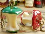 Schneewittchens Rache - Apfelkette in grün oder rot