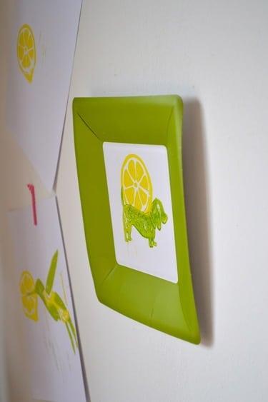 Pappkunst für Deine Wand - der etwas andere Wandteller