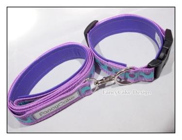 Set - Hundehalsband & Leine für kleine Hunde - versandkostenfrei!