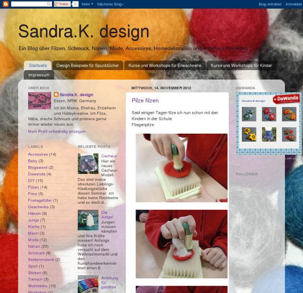 Sandra K. design