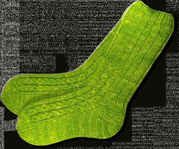 Double Yarn Sock