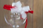 Weihnachts-Haarband für Neugeborene