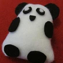 Süßer Filz-Panda