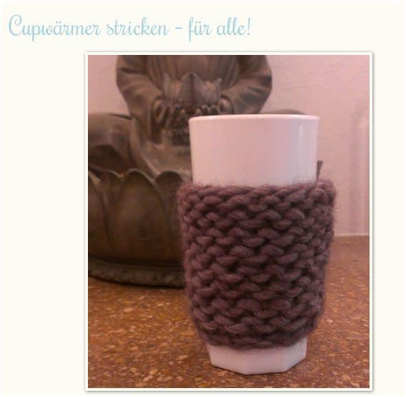 Cup-Cosy stricken