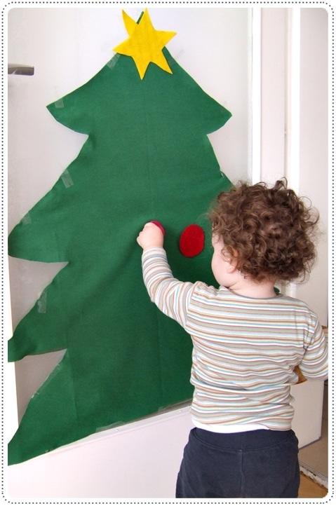 Weihnachtsbaum für die Kleinsten