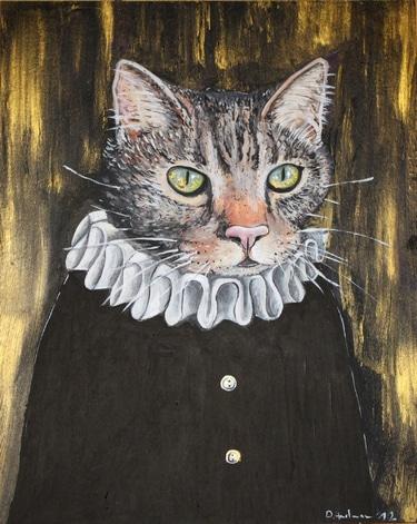 Haustierportrait nach Wunsch im Stil des 16. Jhd.