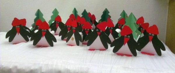 diy / Pinguin-Adventskalender