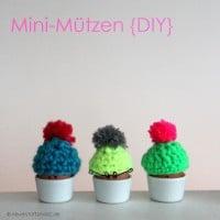 Mini-Mütze {DIY} :::  Last Minute Weihnachtsgeschenk/Osterüberraschung