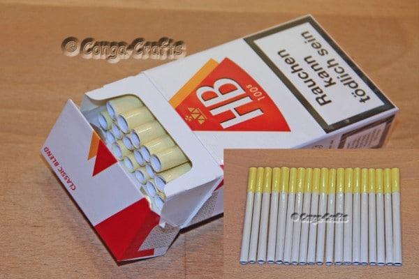Geldgeschenk Geld-Zigaretten