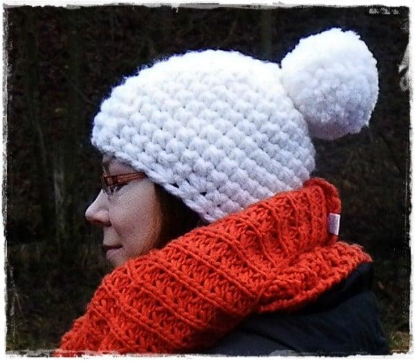 Häkelanleitung Für Eine Pudelmütze Aus Dicker Wolle Handmade Kultur