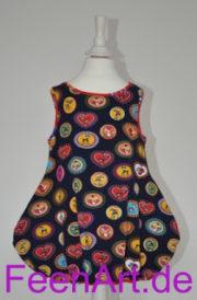 Kleidchen mit Reh und Pilz