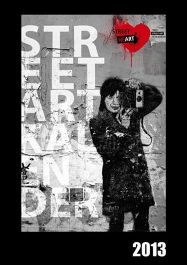 Streetart Banksy Kalender 2013
