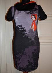 Minikleid mit Kapuze *handmade in Berlin*