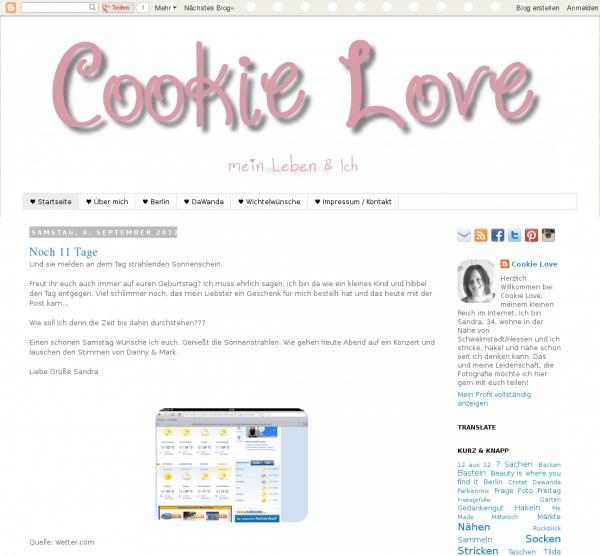 Cookie Love - Fröhlich Bunt Individuell