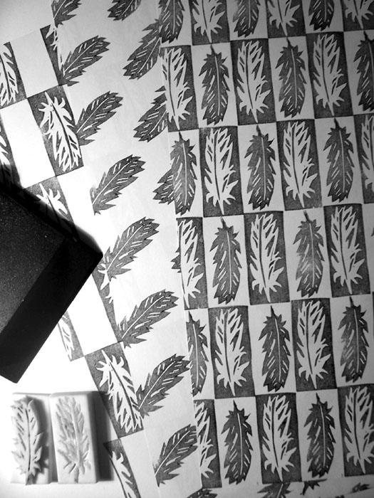Radiergummi-Stempelschnitzen für Anfänger