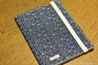 Notizbuch schön anziehen