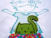 T-shirt Anthea+Cat