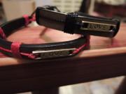 Armband aus recycelten Gürteln