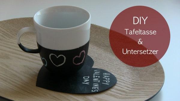 DIY Tafeltasse und Tafeluntersetzer Video-Anleitung