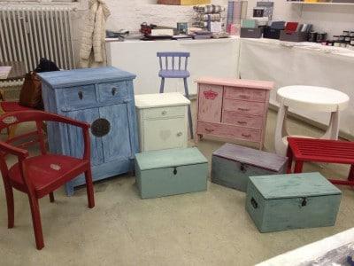 Kurs: Workshop: Mit Kreidefarben Möbel gestalten - HANDMADE Kultur