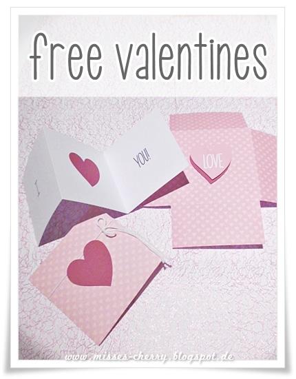 Valentins-Karten (free download)