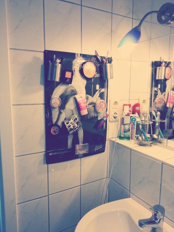 Ordnung im Badezimmer
