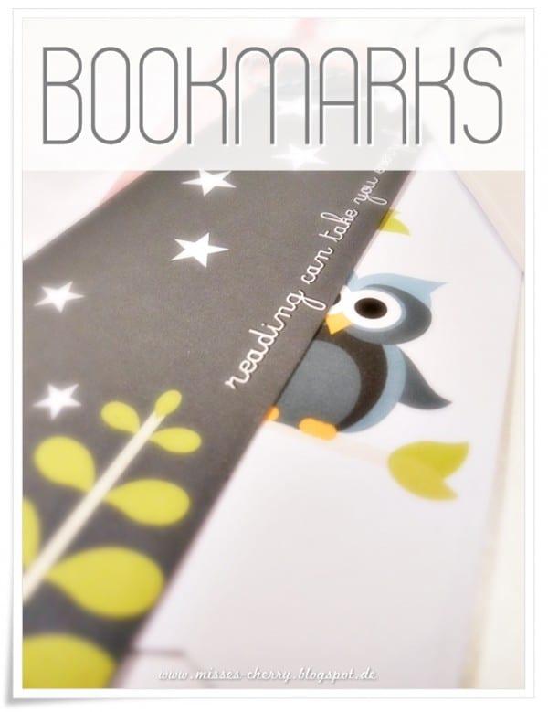 DIY - Lesezeichen {bookmarks} Free Printable