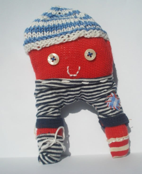 Gestatten: Dragan, vormals Kinderwollhandschuh.