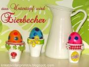 Aus Untertopf wird Eierbecher