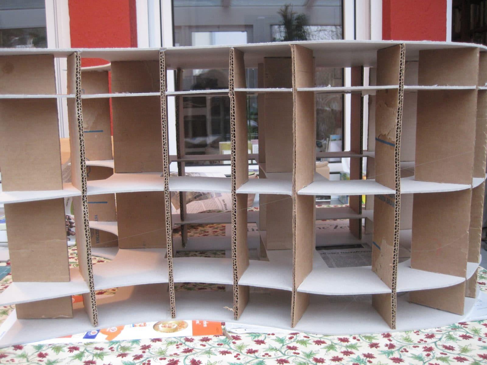 Möbel aus Pappe - Upcycling-Projekte - HANDMADE Kultur