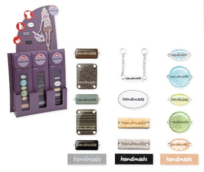 handmade-Label-Set: Individuell ist in