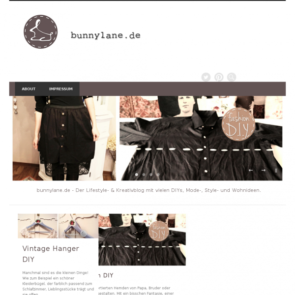 Screenshot  bunnylane.de