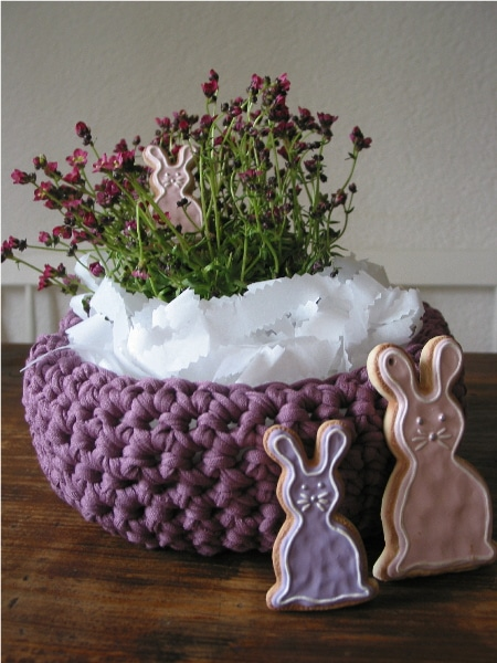 Osternest zum Osterfest
