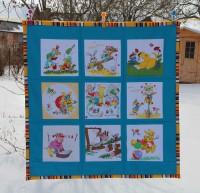 Babydecke aus Taschentüchern