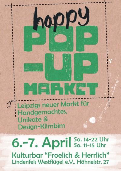"1. ""happy POP-UP MARKET"" in Leipzig"
