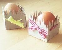 Klein aber feine Osterkörbchen