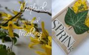 Notizbuch mit einem Hauch Frühling