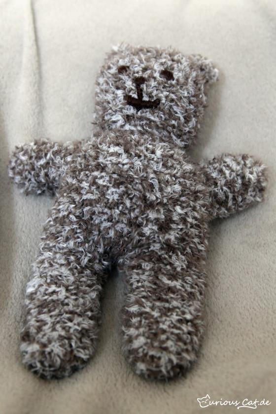 Teddybr Stricken Handmade Kultur