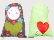 Matrjoschka Puppe mit Herz