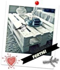 DIY Couch Tisch aus Europaletten