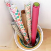 Wie man aus einem 1€ Plastik-Mülleimer einen Hingucker macht